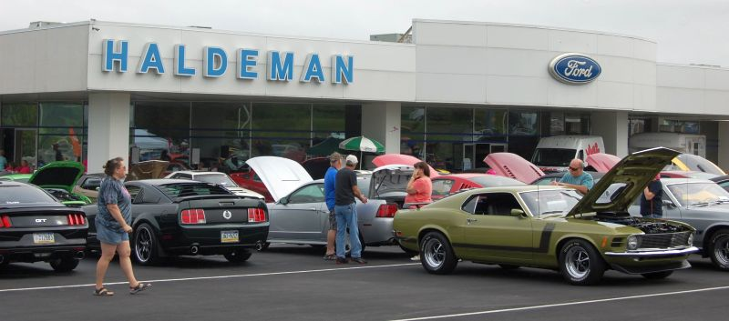 Mustang Club Of Central PA - Haldeman ford car show