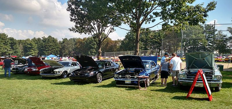 Mustang Club Of Central PA - Car show hanover pa