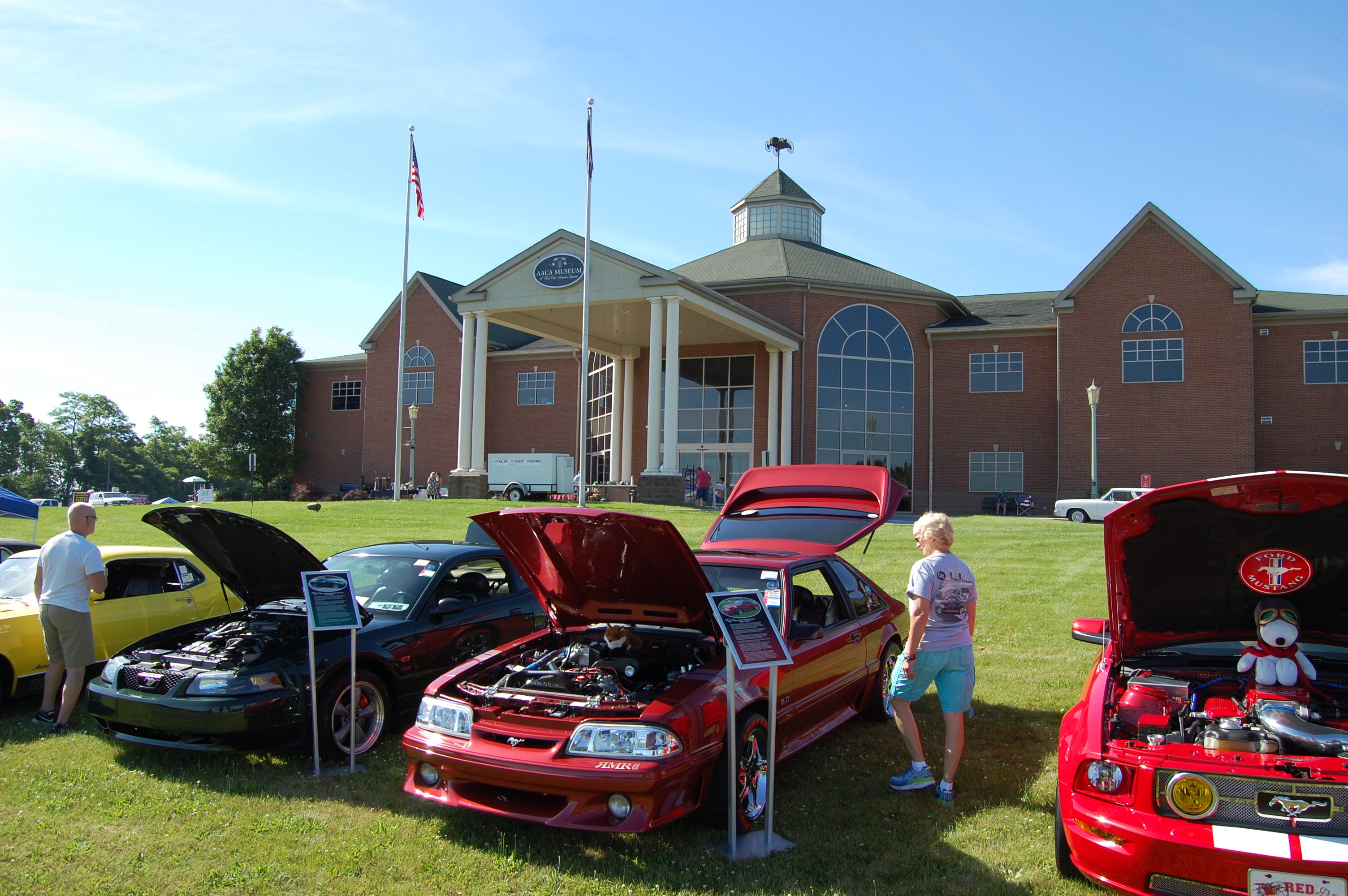 Mustang Club Of Central PA - Aaca museum car show